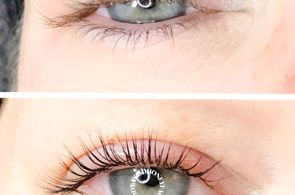 Lash Lift Brows Wild Honey Face And Body