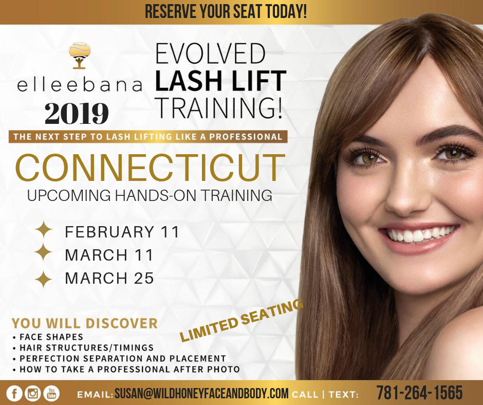 Lash Lift Henna Brow Training Welcome To Wild Honey Ct Day Spa