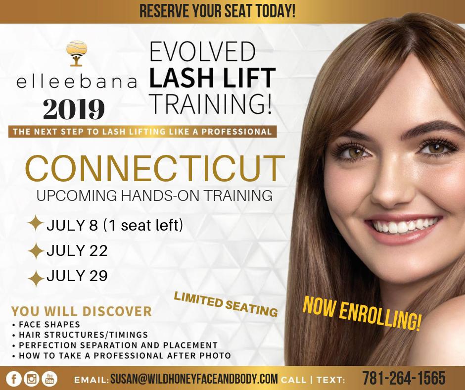 Elleebana Lash Lift & Henna Brow Training - Welcome to Wild
